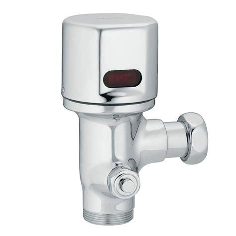 sensor operated flushers faucet moen m power sensor operated closet flush valve in chrome 8310rdf16 the home depot