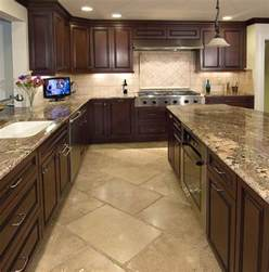Kitchen Tile Designs Floor Kitchens And Backsplashes