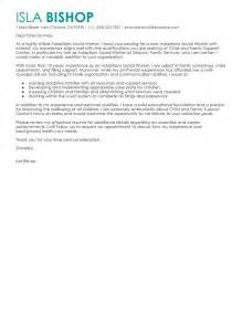 cover letter for family service worker leading professional adoptions social worker cover letter