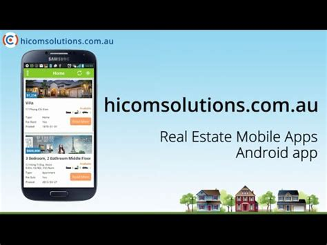 real estate app real estate android app source code for sale youtube