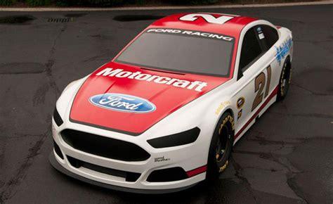 nascar ford fusion livery revealed autoguidecom news