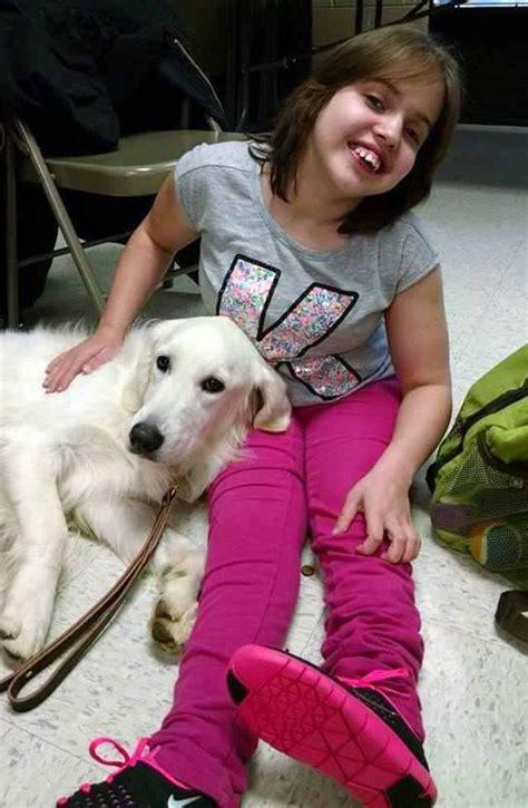 seizures in golden retriever kheira s service senses seizures before they happen inside children s