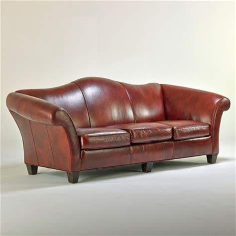 stickley leather sofa camelback roll arm sofa by stickley audi and co on artnet