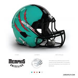 design football helmet logo memphis grizzlies gear as an nfl team