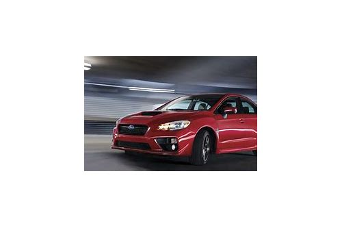 wrx sti lease deals