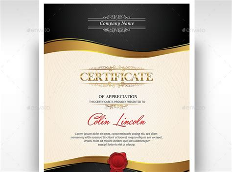 professional certificate templates 20 professional certificate template psd indesign and