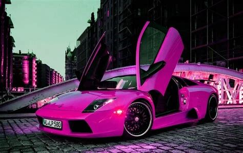 girly sports cars girly cars pink cars every will