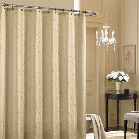 bed and bath shower curtain 7 reasons to choose a shower curtain a shower door