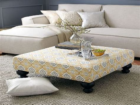 Coffee Table Appealing Upholstered Coffee Tables Low Upholstered Coffee Table Diy