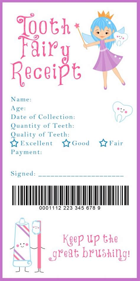 free home decor ideas toothfairy po com 25 best ideas about tooth fairy receipt on pinterest
