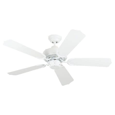 sea gull lighting 42 inch indoor outdoor white ceiling fan