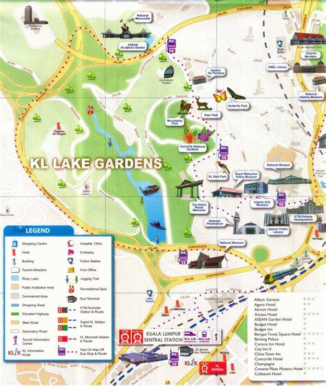 kuala lumpur map tourist attractions kuala lumpur malaysia travel vacation and tourism new zone