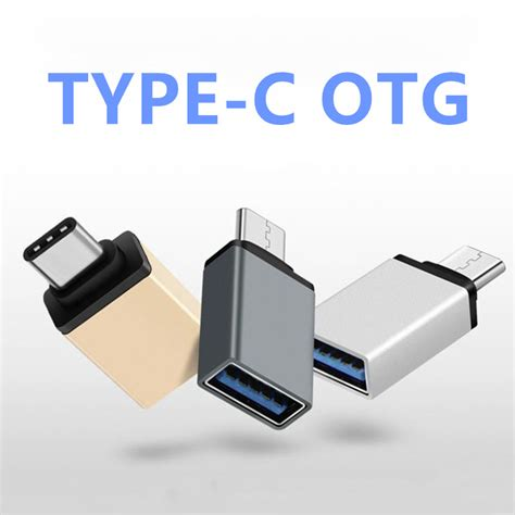 Usb Otg Type C fffas usb 3 0 type c otg cable adapter for huawei xiaomi 5
