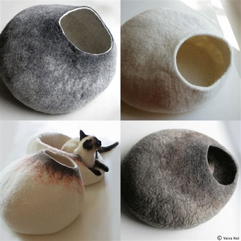 cat beds ask for custom felted cat bed hand felted wool cat bed