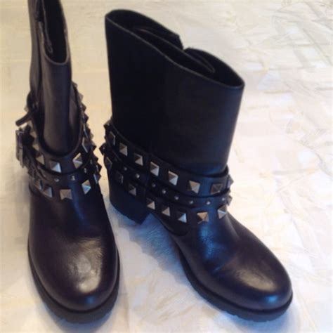 59 bcbgeneration shoes bcbg black studded boots