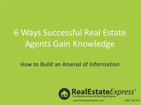 how to succeed as a real estate broker living in romania 6 ways successful real estate agents can gain knowledge