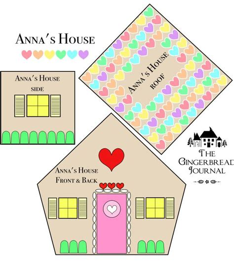 Gingerbread House Patterns Templates by 59 Best Gingerbread House Patterns And Templates Images On