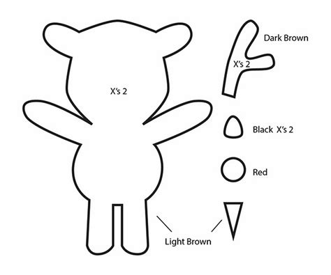 reindeer template to sew how to make a kawaii rudolph reindeer plushie tutorial