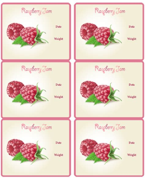 jam jar label template canning jar labels for jams worldlabel