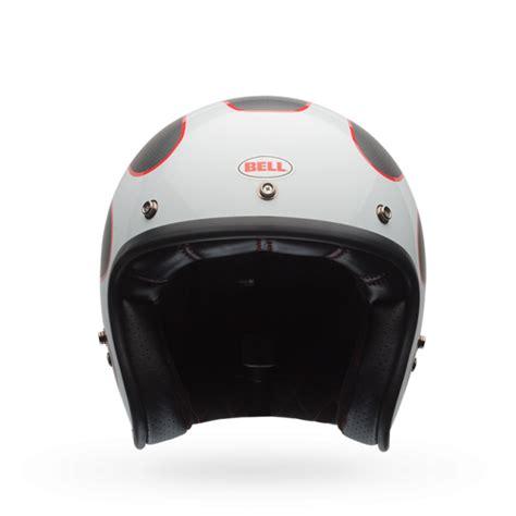 design helmet asia bell custom 500 carbon ace cafe tonup black white