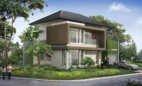 corner house design the corner house with minimalist modern tropical design very cool house home