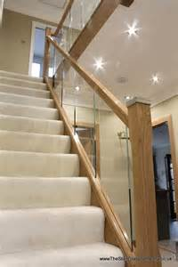 Stairs Banister Designs Wooden Staircases Cheshire Stair Glass