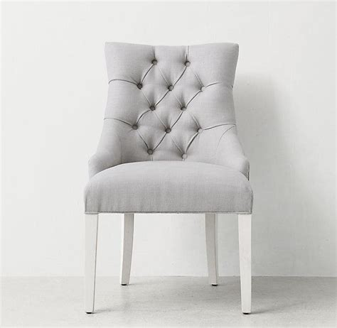 white tufted chair desk tufted desk chair light grey chairs seating