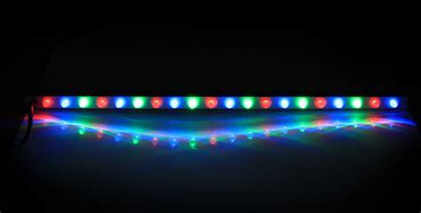 tira de luces led de colores  cascadas  mando