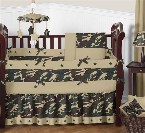 camo baby bedding sets sweet jojo designs camo green collection 9pc crib bedding