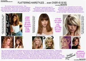 hairstyles to look younger in 50 s 60 s look younger beauty tips makeup over40 plastic surgery