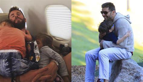 Día del Padre: los momentos más tiernos de Ricky Martin y ... Mama De Los Hijos De Ricky Martin