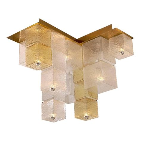 Cube Ceiling Light 1960s Cube Ceiling Light For Sale At 1stdibs