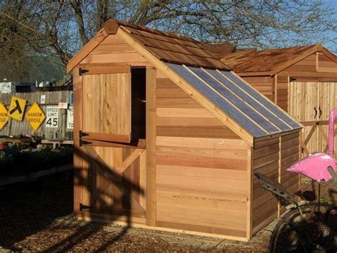 cedarshed sunhouse  shed greenhouse shed kit