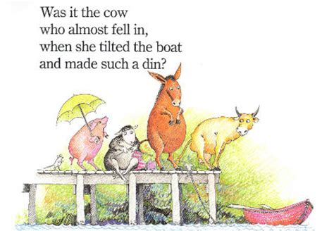 who sank the boat story blog essential picture books part 2 183 readings au