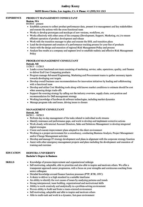 management consulting resume management consultant resume sles velvet