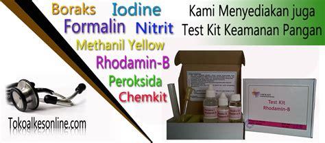Phosphate Test Kit Murah Berkualitas test kit keamanan pangan chemkit pasar pramuka pusat