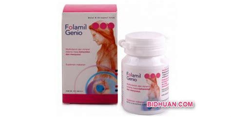 Suplemen Ibu Folamil Genio Suplemen Untuk Ibu Folamil Genio Kandungan Lengkap