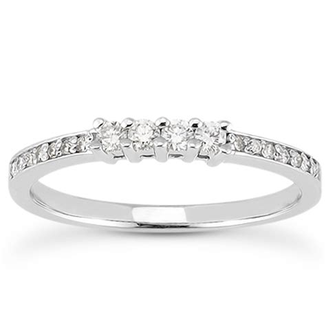 baguette wedding band soho wedding band