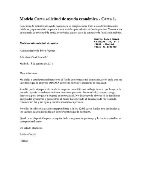 deduccion de impuestos para carta de iglesia modelo carta solicitud de ayuda econ 243 mica