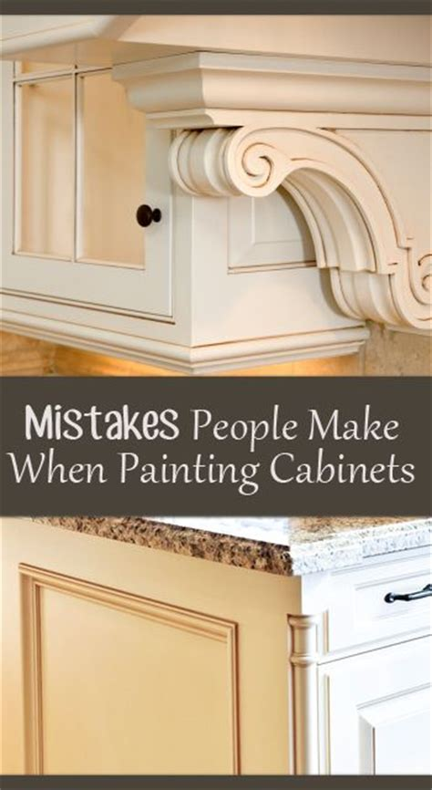 painting techniques for kitchen cabinets mistakes people make when painting kitchen cabinets