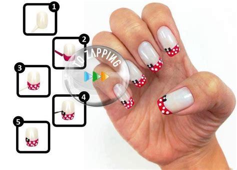 imagenes de uñas bonitas y faciles u 241 as decoradas f 225 ciles de hacer con lazo tozapping com