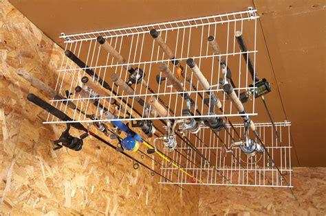 Fishing Rod Garage Storage by 35 Diy Garage Storage Ideas To Help You Reinvent Your