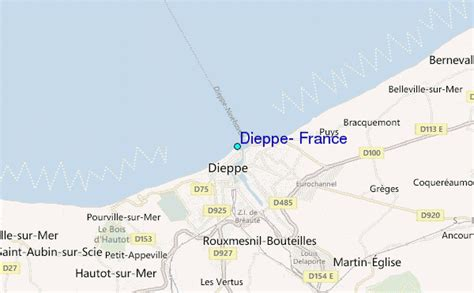 Dieppe, France Tide Station Location Guide