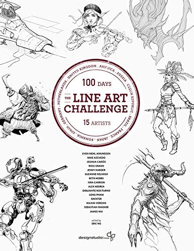 100 day challenge review book review the line challenge 100 sketches for 100