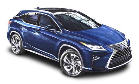 lexus rx blue lexus rx 450h blue car png image pngpix