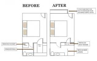 Floor Plans For Bedroom With Ensuite Bathroom by Lyndie S Ensuite Bathroom Makeover