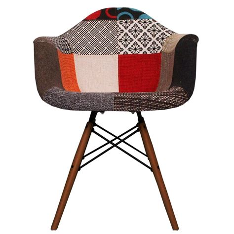 Patchwork Fabric Uk Only - patchwork fabric daw style arm chair from only home