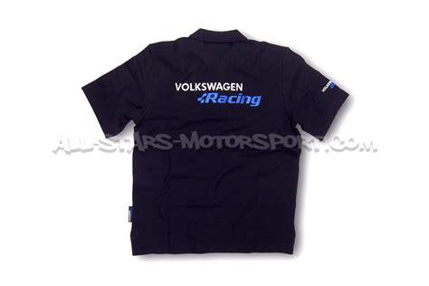 Polo Shirt Vw Racing vw racing official black r collection polo