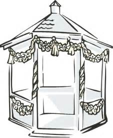 Gazebo Coloring Pages sketch template