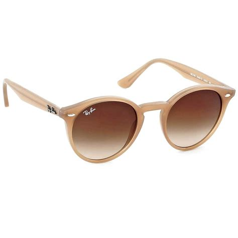 ray ban round light ray sunglasses ray ban round rb 2180 6166 13 light brown brown